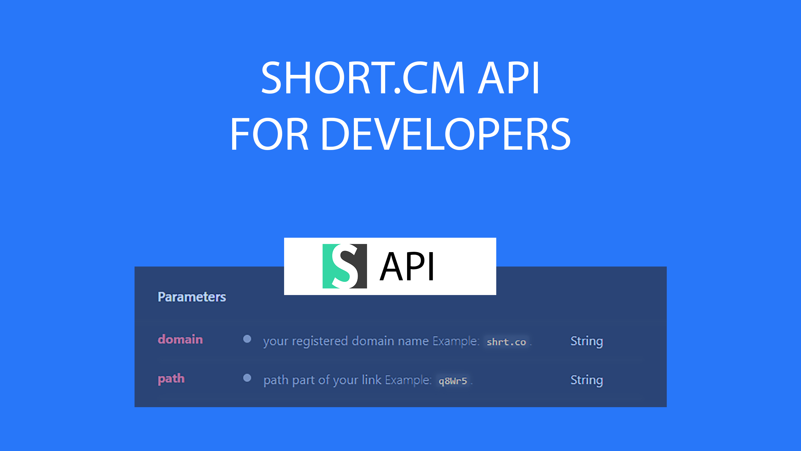 Create short links in your app with Short.cm API