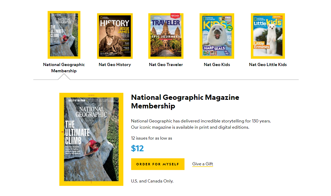 NatGeo call to action
