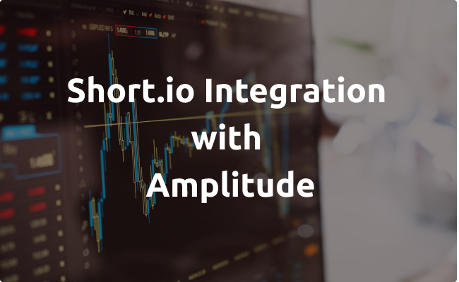 Short.io Integrates with Amplitude via Segment