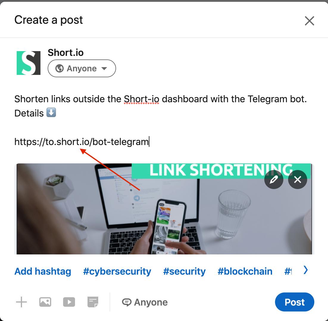 linkedin-short-links